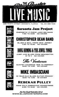 TBR Music Poster (Oct. 22-27)
